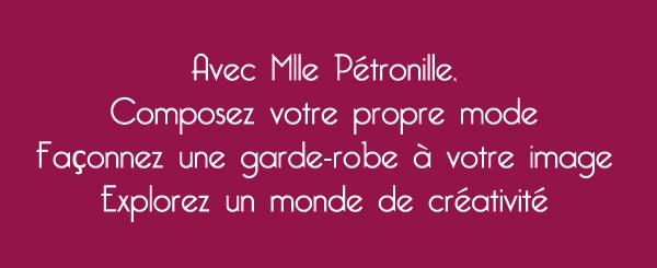 Credo Mlle Pétronille