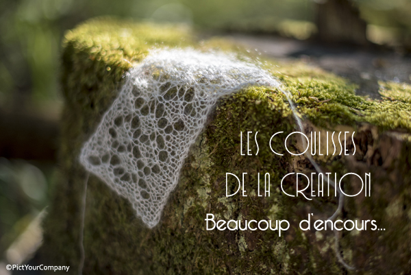 Beaucoup d'encours tricot