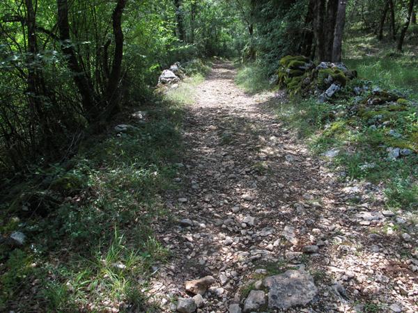 Le Lot et la laine chemin de randonnéee