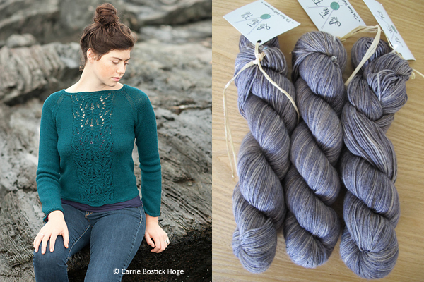 Pétronille tricot perso Imogen wool