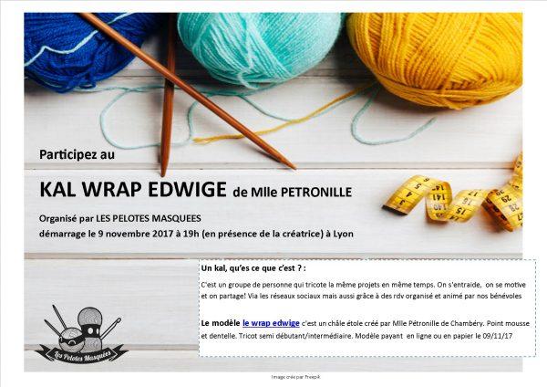 affiche KAL Wrap Edwige Pelotes Masquées