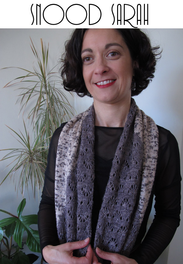 Photo Patron Snood Sarah Mlle Pétronille