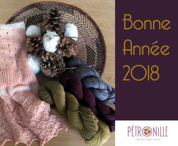 Vœux Mlle Pétronille 2018