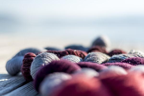 écheveaux de laine