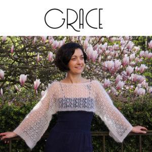 patron boléro Grace - annonce