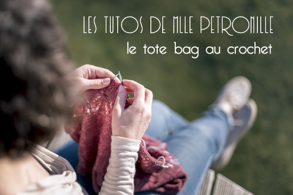 photo tuto tote-bag crochet