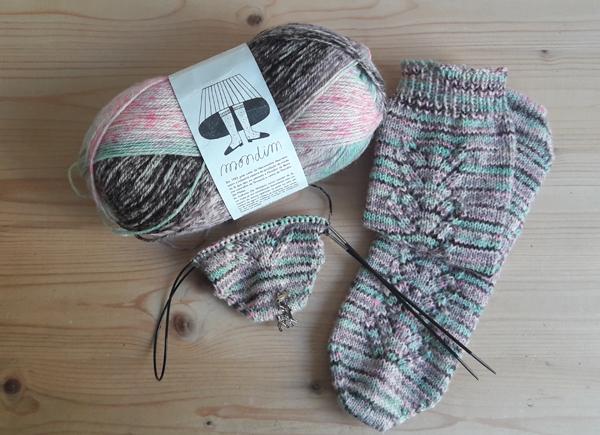 tricot perso chaussettes Abisko