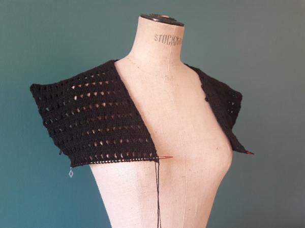 tricot perso gilet black barlow
