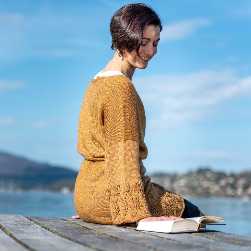 Photo du  modèle de kimono Lauren